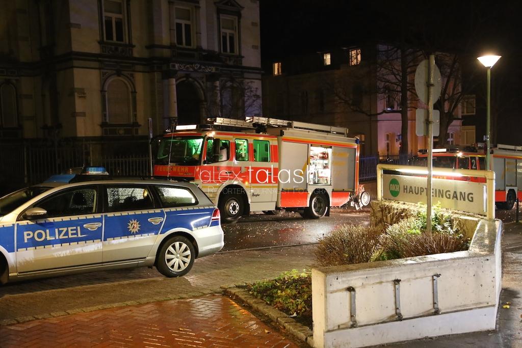 Feuer im Allgemeinen Krankenhaus Hagen