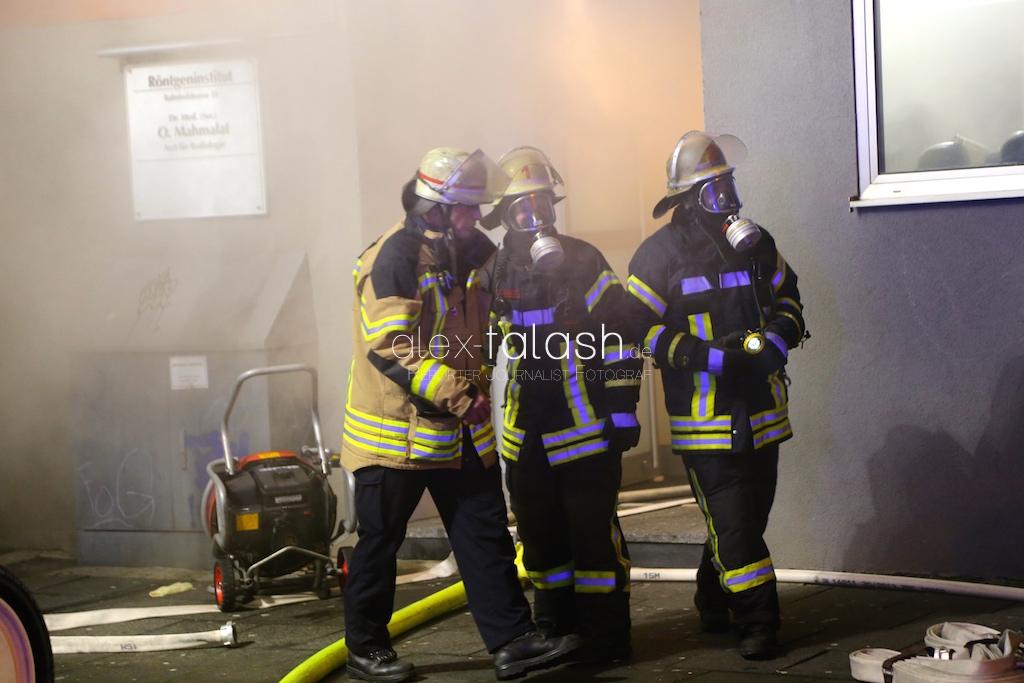 Großeinsatz der Feuerwehr Hagen nach Kellerbrand