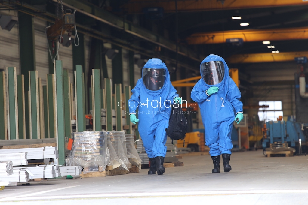 Großalarm nach Chemieunfall in Nachrodt