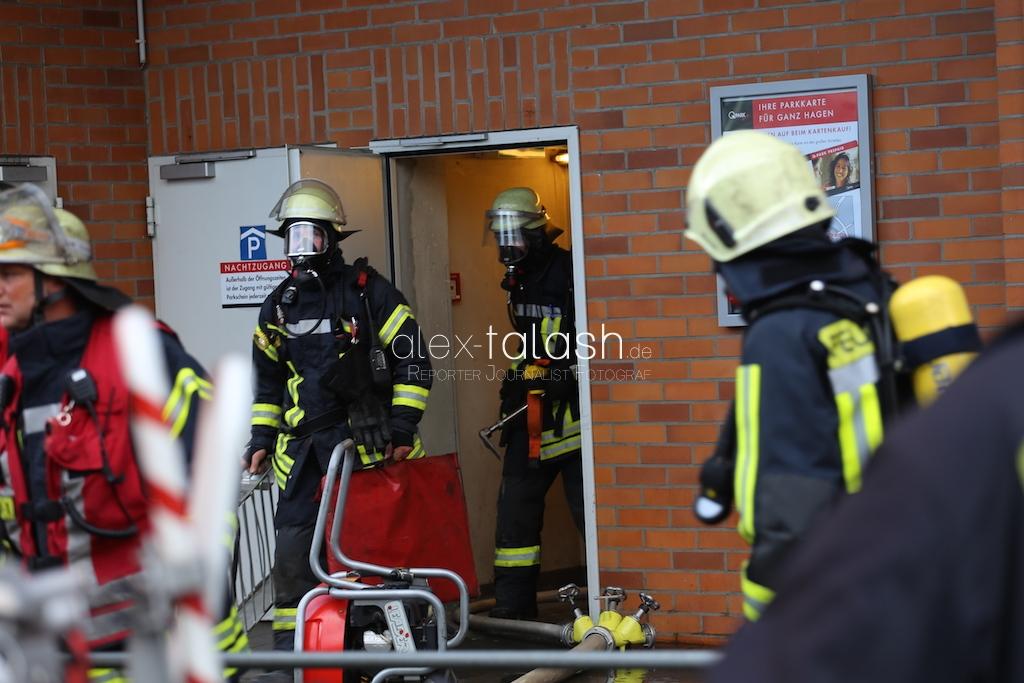 Brand in Hagener Volme Galerie