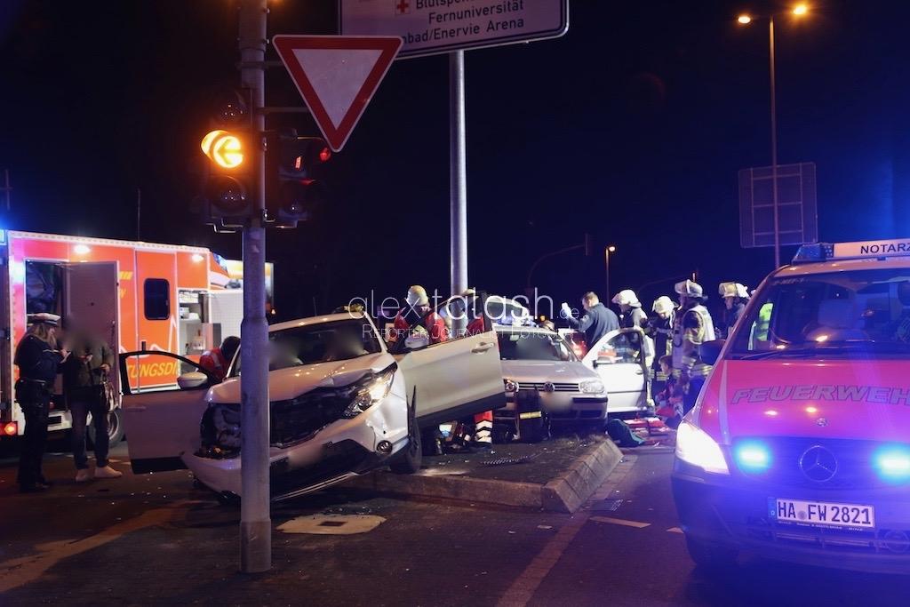Schwerer Verkehrsunfall am Loxbaum