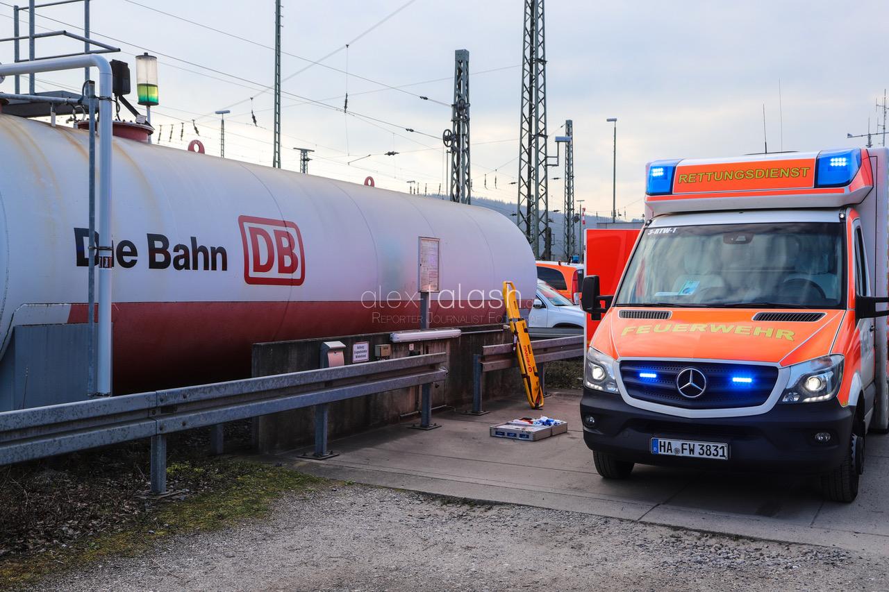 Schwerer Arbeitsunfall am Güterbahnhof Hagen-Vorhalle – Rettungshubschrauber im Einsatz