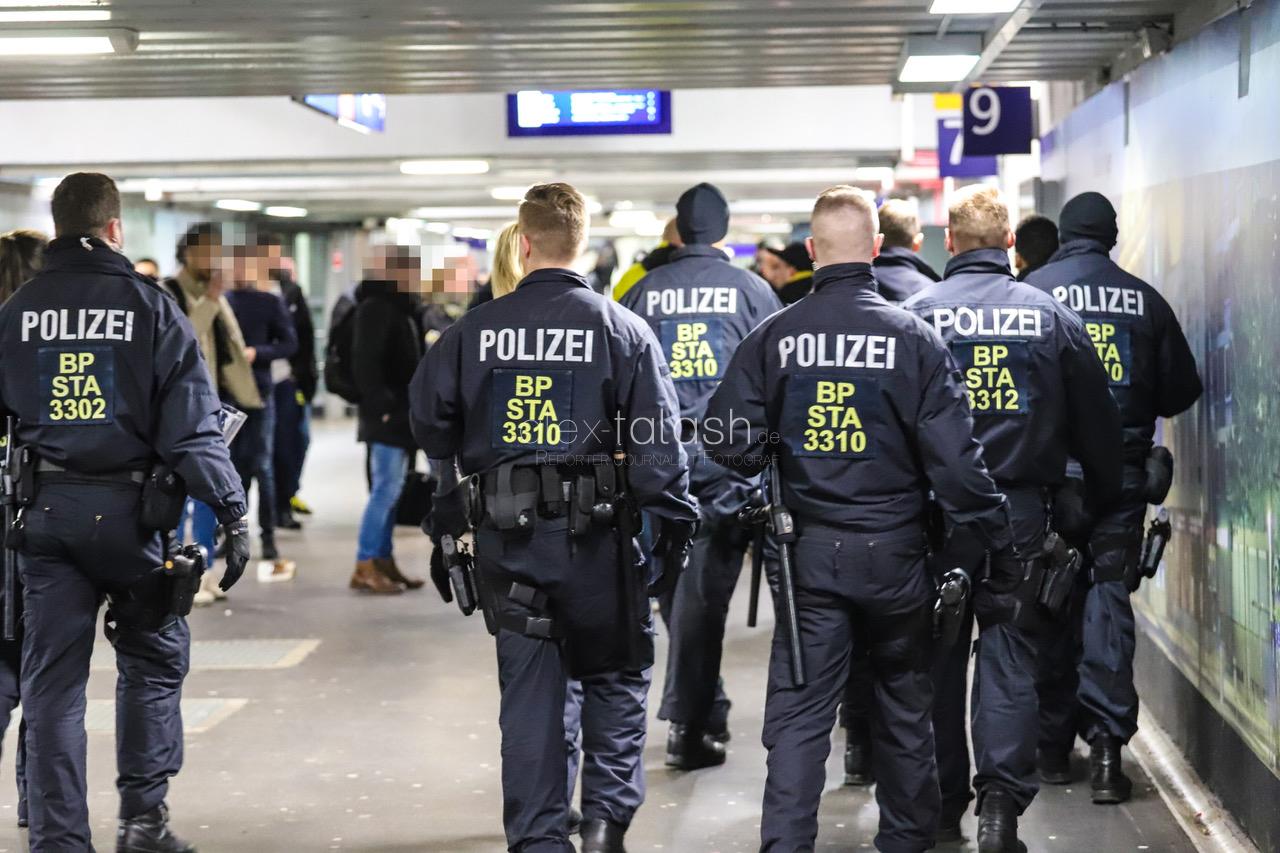 Coronavirus-Verdacht am Hagener Hauptbahnhof – Bundespolizei verteilt Aussteigekarten