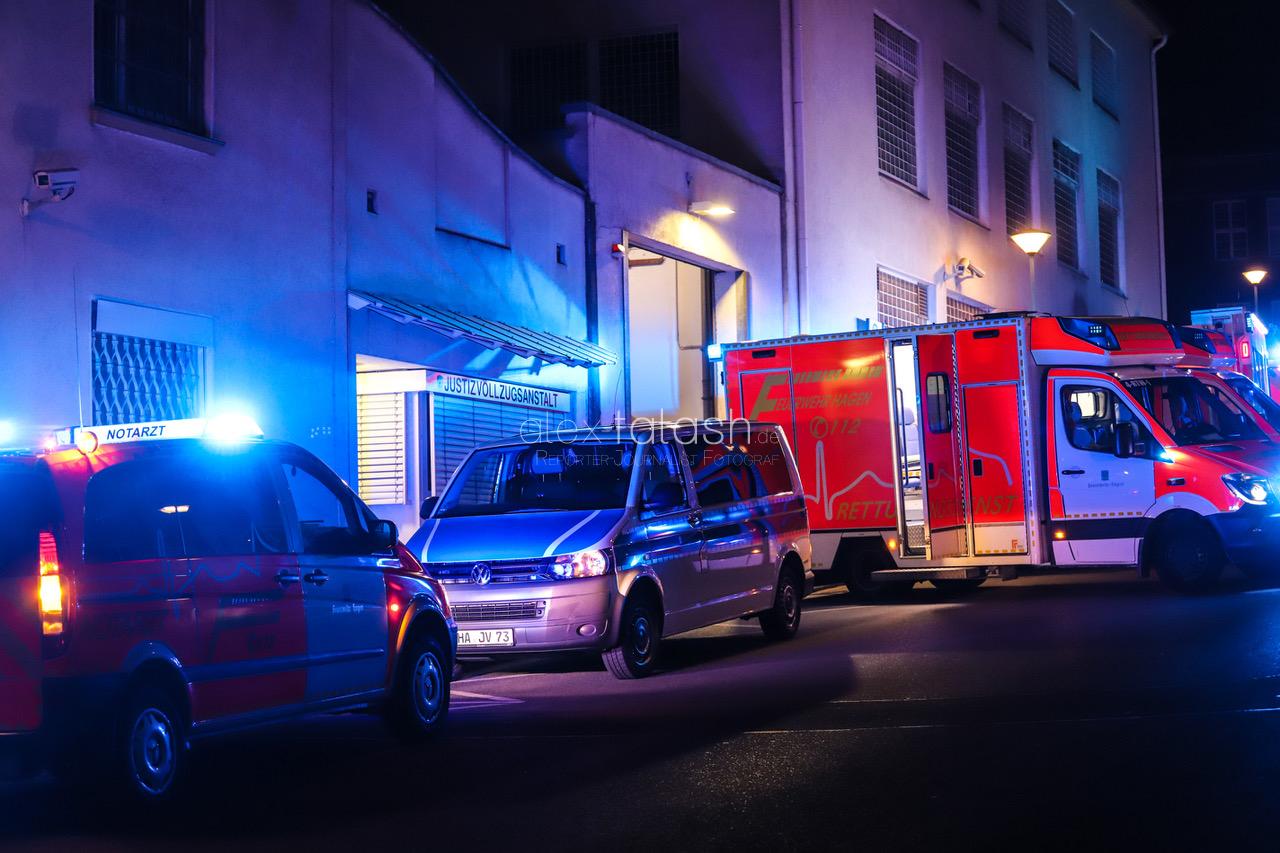 Brand in der JVA Hagen – Fünf Verletzte!