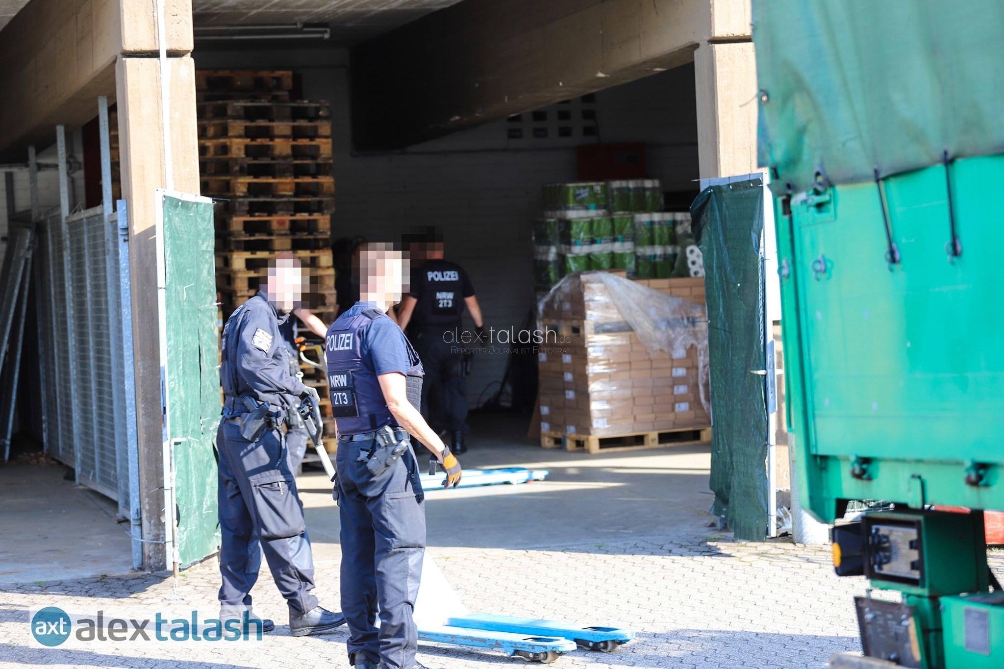 Großrazzia in Hagen: Geldwäsche im Getränkehandel