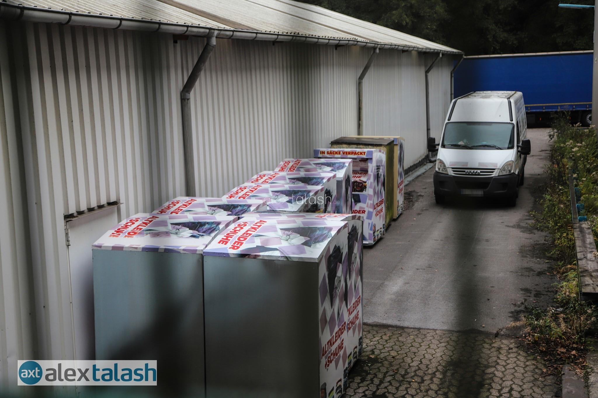 Razzia gegen mutmaßliche Schleuserbande – Ennepetaler Textilrecycling-Betrieb im Fokus