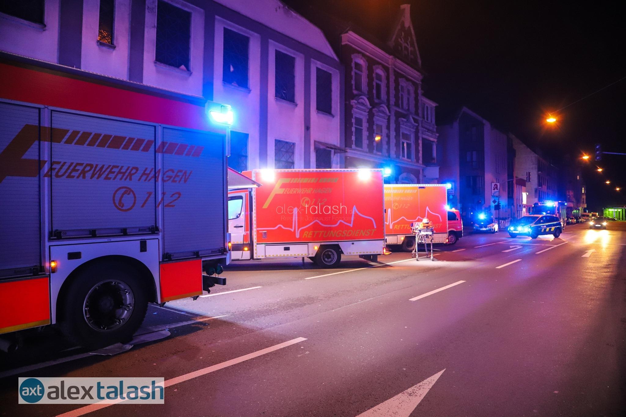 Von Feuer aus dem Schlaf gerissen: Mieter (45) nach Wohnungsbrand festgenommen