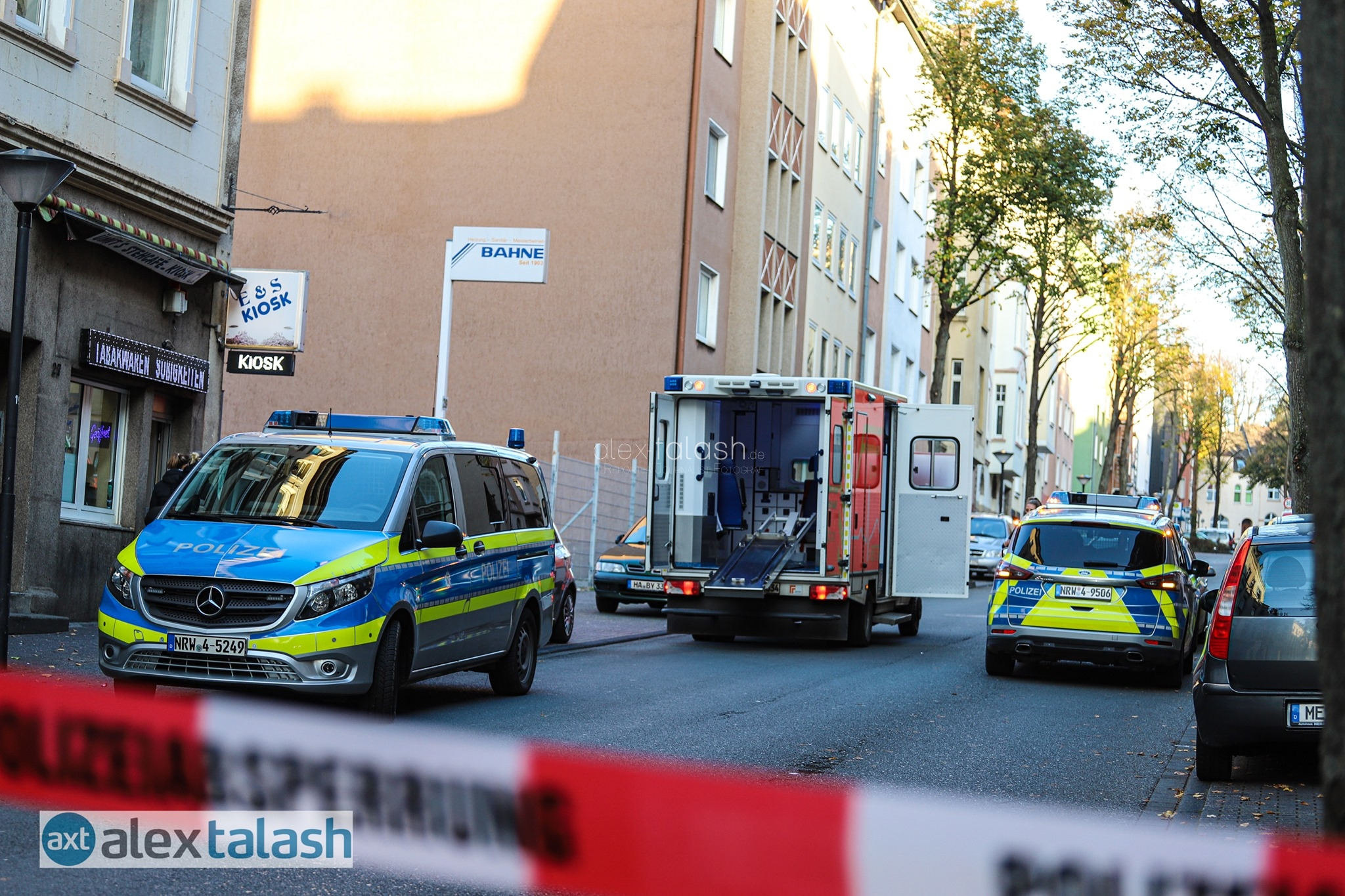 Messerstecherei in Hagener Kiosk –  31-Jähriger schwer verletzt